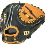 Catchers mitt with open back