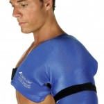 Baseball arm ice pack for throwing arm pain