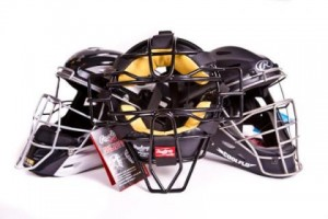 hockey and two-piece style catching masks